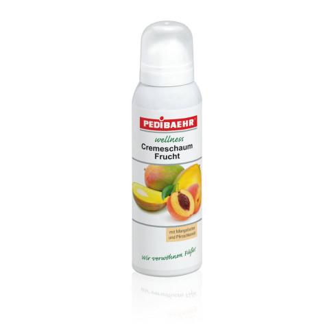 fruit cream foam with mango butter and peach oil 125ml